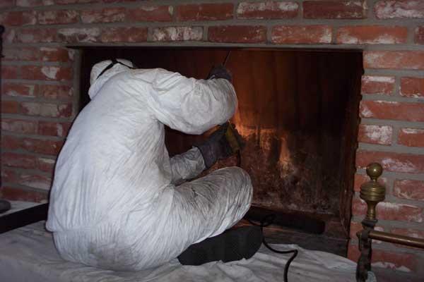Menacing Chimney Leak