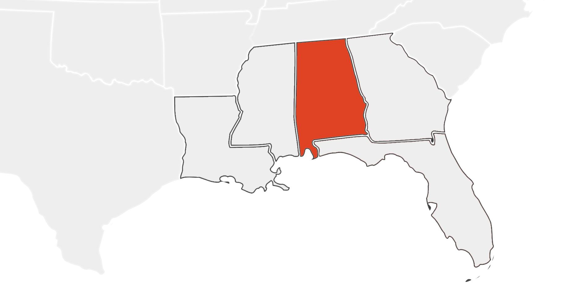 Alabama Location