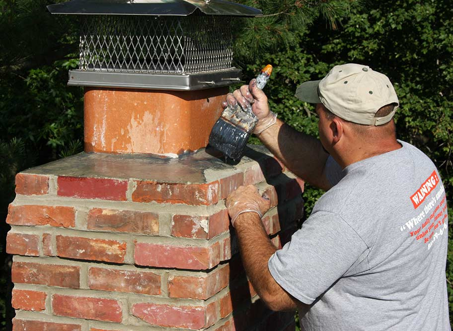 Fireplace Doctor Repaired stonework and prefab fireplace Crestview Florida