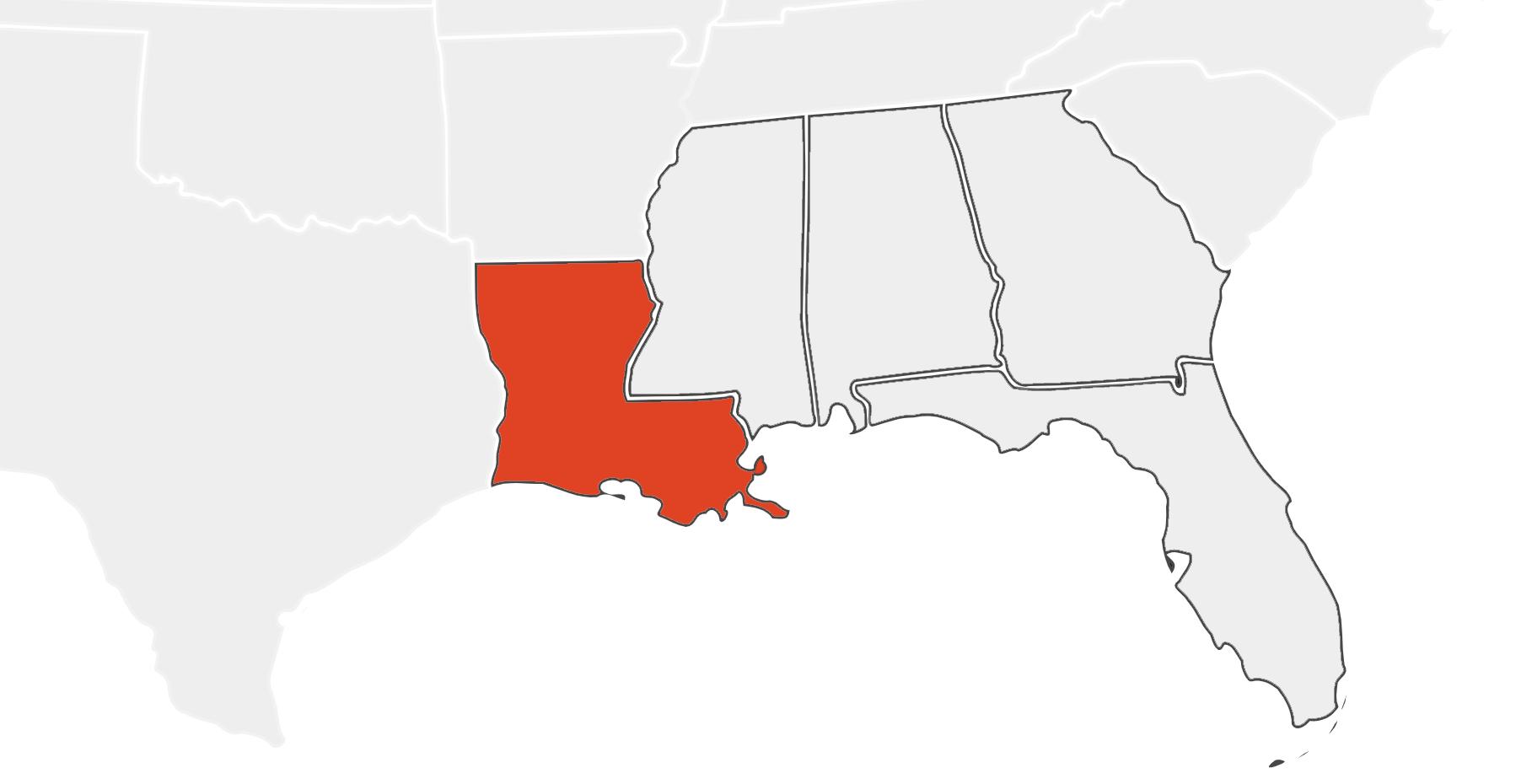 Louisiana Location