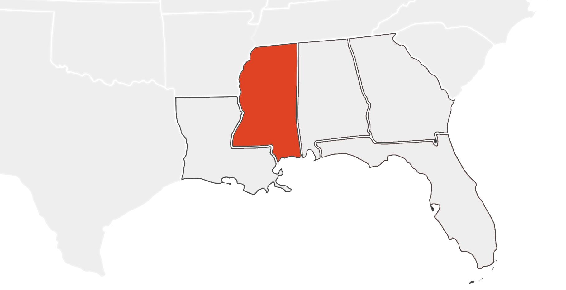Mississippi Location